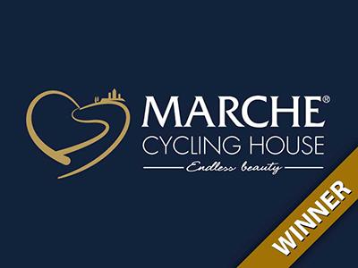 Logo cicloturismo Marche
